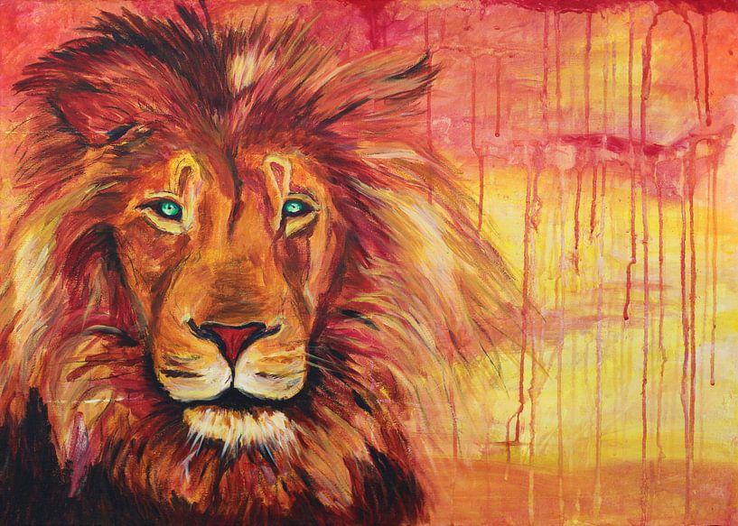 De Rode Leeuw van Simon Dokman