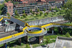 De Luchtsingel in Rotterdam Centrum