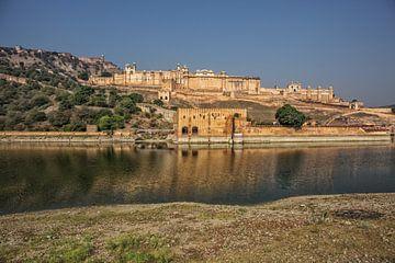 Mehrangarh Fort, Jodhpur, Rajasthan, India. Indiaas paleis van Tjeerd Kruse