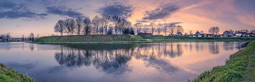Panorama Nieuwpoort van Sander Poppe