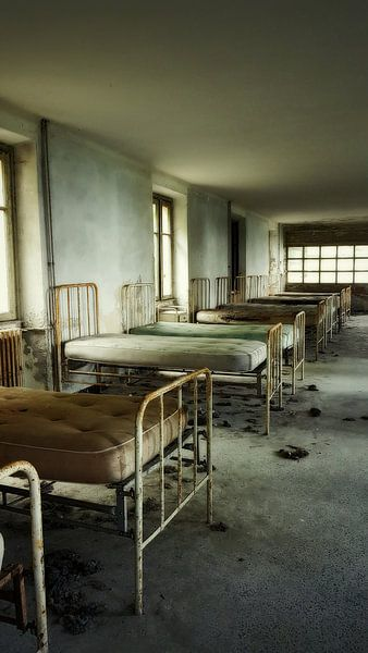 Verlaten ziekenhuis van Wendy Van leth