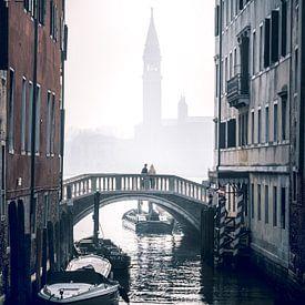 Moody Venetië 2 van Iman Azizi