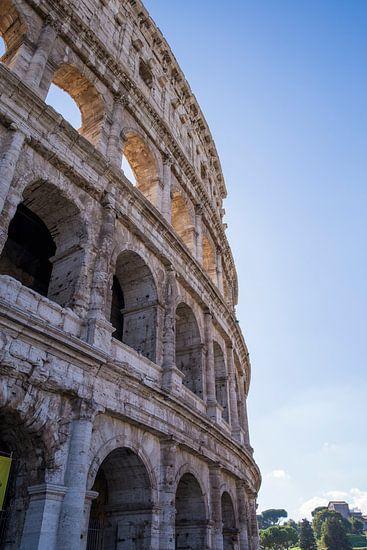 Detail des Kolosseums in Rom