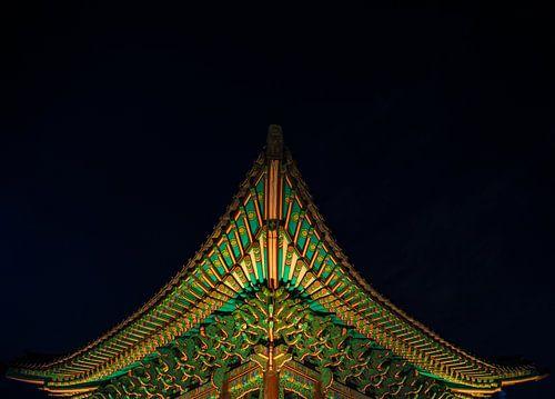 """""""Small temple"""" in South Korea von Kaj Hendriks"""