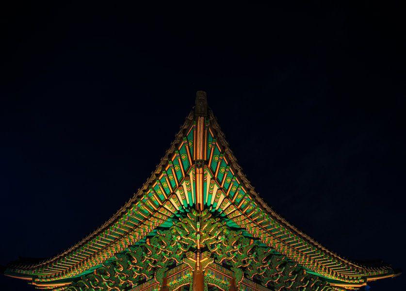 """Kleine tempel"" in Zuid-Korea van Kaj Hendriks"