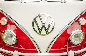 Volkswagen Transporter T1 uit de jaren 1950 of VW T2 vooraanzicht van Sjoerd van der Wal
