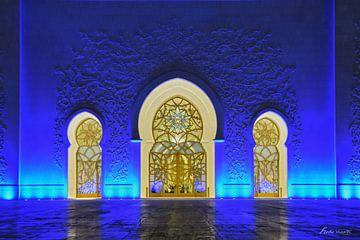Sjeik Zayed-moskee von ferdy visser