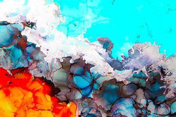 Oranje Blauw/ Orange Blue/ van Joke Gorter
