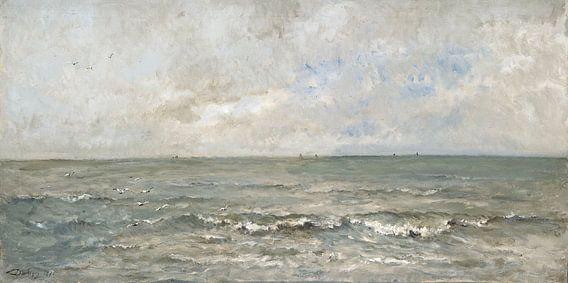 Seestück - Charles-François Daubigny