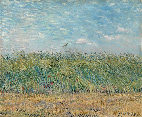 Vincent van Gogh, Korenveld met patrijs van