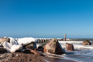 Winter on the Baltic Sea coast
