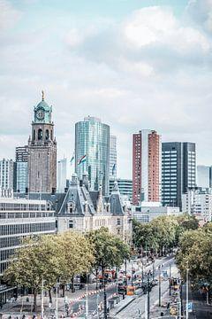 Les gratte-ciels de la foire de Rotterdam sur Rftp.png