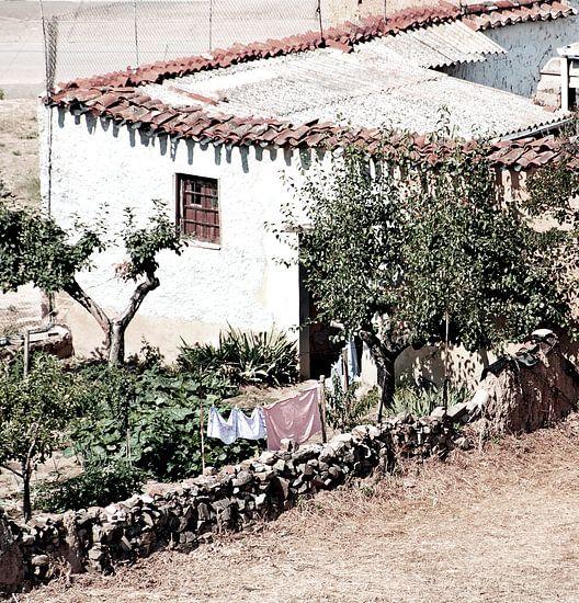 Dorpsgezicht Astorga van Sigrid Klop