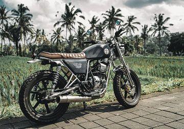 Bali verkennen op de motor van Colin van Wijk