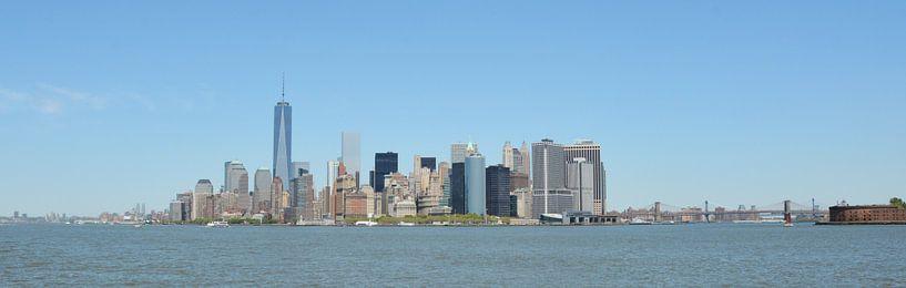 New York Skyline van Anouschka Kriek