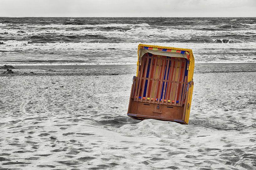 Strandstoel van marleen brauers