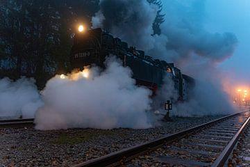 Brockenbahn in de Harz tijdens de afdaling van Marc-Sven Kirsch