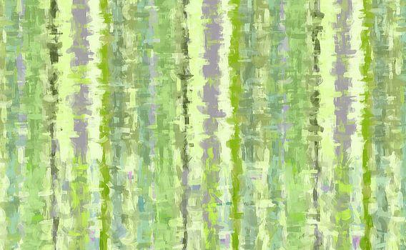 Groene kunst abstract