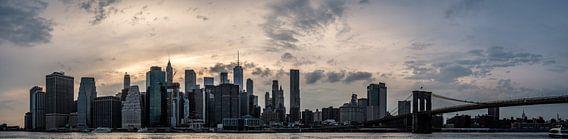 Panorama Skyline Manhattan New York City