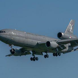 Vanavond vloog ze nog. Later dit jaar wordt ze uit dienst genomen. De iconische KDC-10 van de Konink van Jaap van den Berg