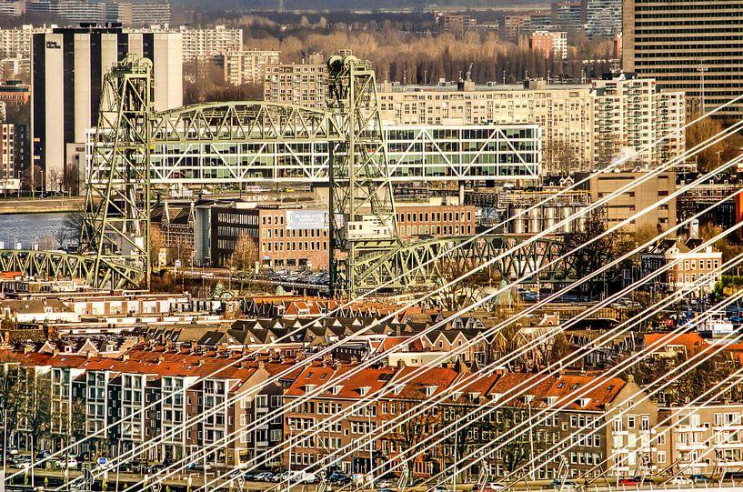Rotterdam, de Hef en andere bruggen van Frans Blok