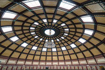 Innenarchitektur Arnheimer Gefängnis, Gefängniskuppel, zellen, Architektur von Ger Beekes