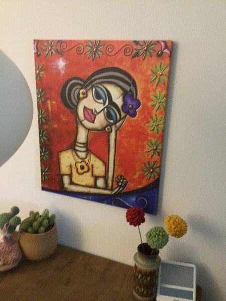 Kundenfoto: Reflexo de Frida Kahlo von Frida Kahlo