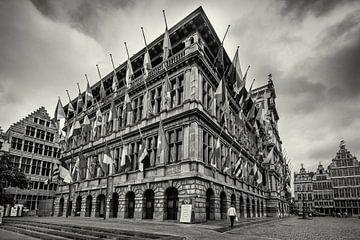 Antwerpener Rathaus von Rob Boon