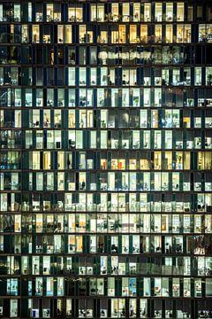 Abendfoto Südafrikanisches Büro von Guido Pijper
