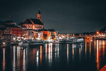 Bild Passau bei Nacht