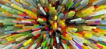 Blocks bunt II van Marion Tenbergen