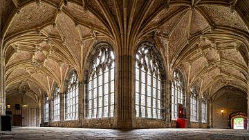 Cloître gothique, Abbaye de Middelburg sur Fotografiecor .nl