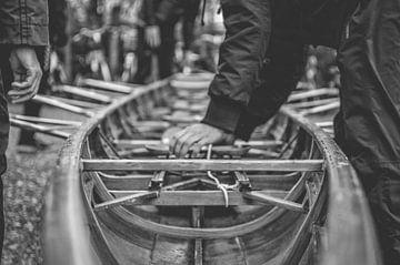 Roeien (rowing) van Sebastiaan van Stam Fotografie