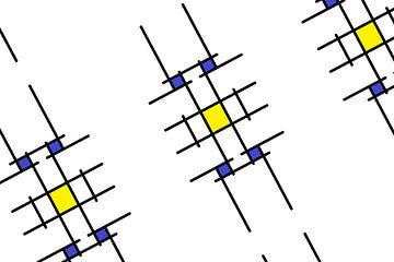 Mondrianoid 6 von Henk-Jan van Tuyl