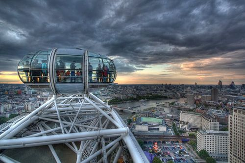 London auf 135 meter Hoehe
