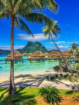 Paradijs op aarde: Bora Bora (staand)