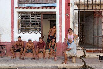 Vrienden en familie in Cuba