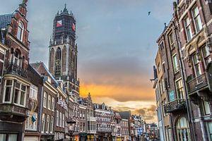 De beroemde Domtoren in Utrecht