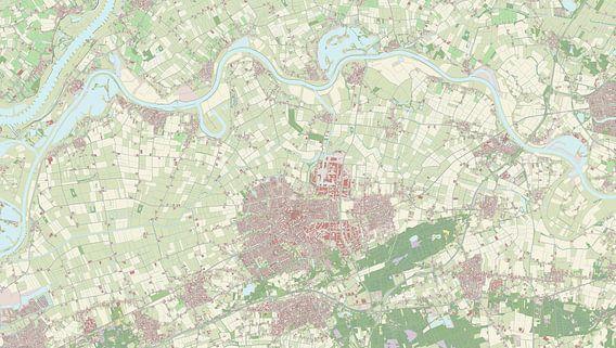 Kaart vanOss