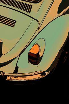 Volkswagen Kever / Beetle van The Art Kroep