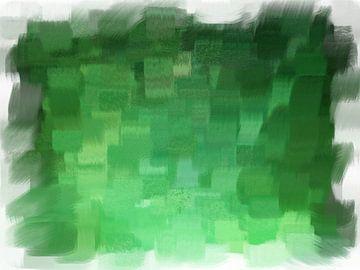 Abstrakt grün von Maurice Dawson