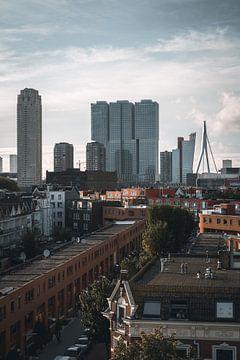 Rotterdamer Skyline Kop van Zuid von vedar cvetanovic