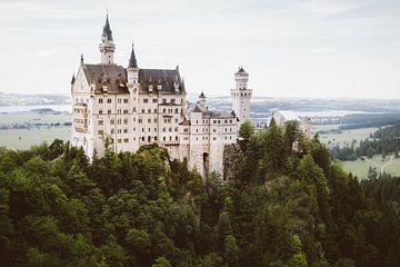 Schloss Neuschwanstein von Patrycja Polechonska