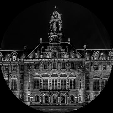 Het Stadhuis van Rotterdam in Zwart/Wit van MS Fotografie | Marc van der Stelt