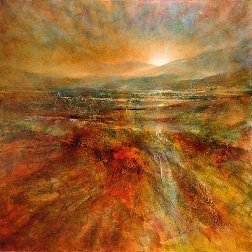 Sonnenaufgang van Annette Schmucker