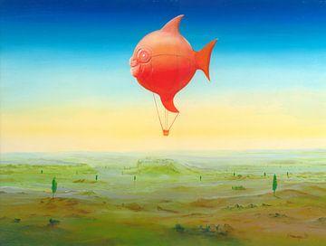 Ballonfisch van Silvian Sternhagel