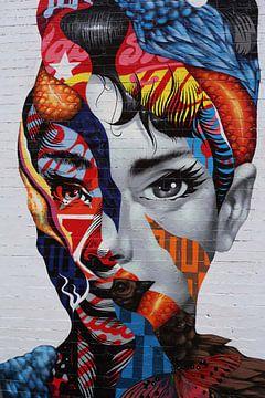 Street Art - Audrey van Rudy & Gisela Schlechter