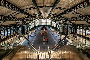 Nostalgiebahnhof Den Bosch von Eugene Winthagen