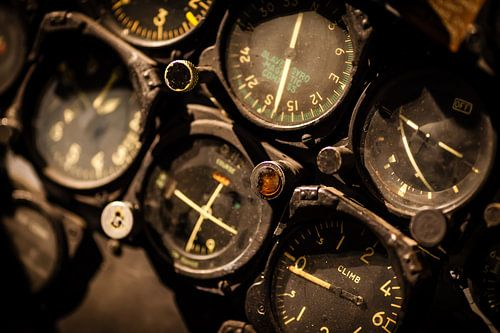 Cockpit dashboard van Victor van Dijk