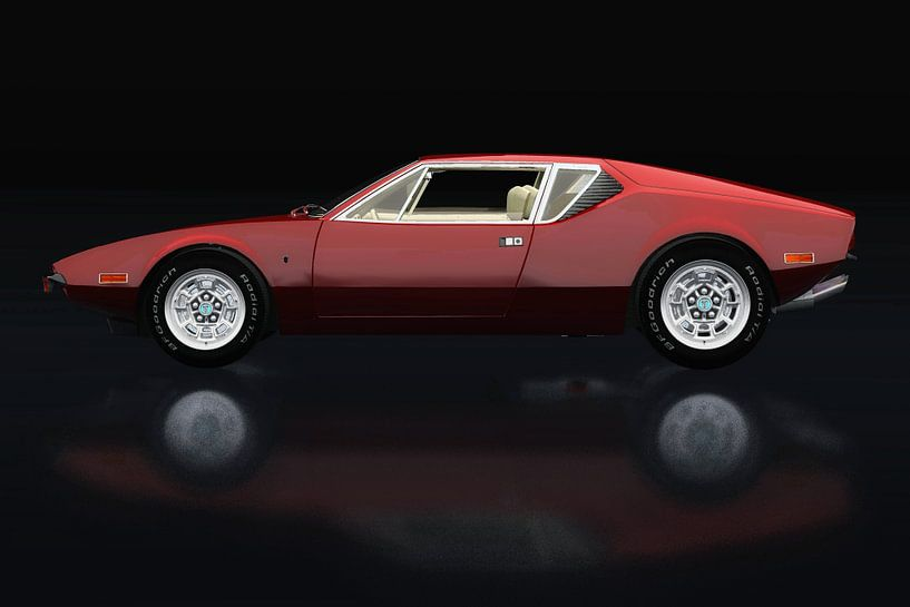 De Tomaso Pantera 1971 van Jan Keteleer